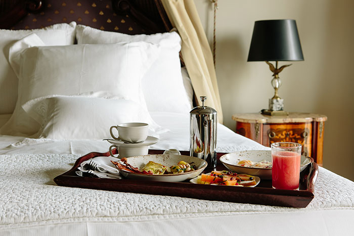 Hotel Les Mars Continental Breakfast for Two