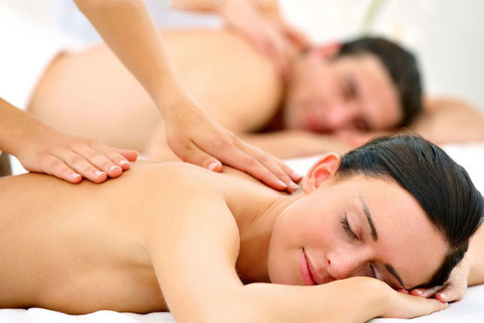 A relaxing massage at Spa Dolce, Healdsburg, CA